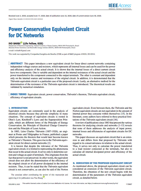IVO-BARBI-POWER-CONSERVATIVE-EQUIVALENT-CIRCUIT-FOR-DC-NETWORKS